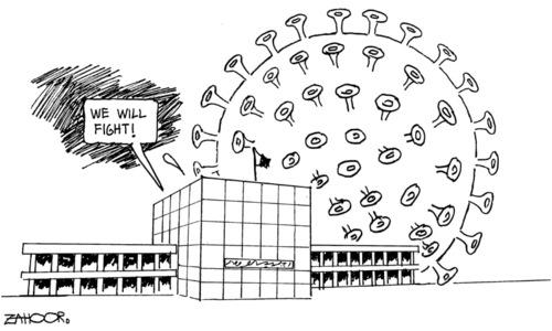 کارٹون :27 مارچ 2020