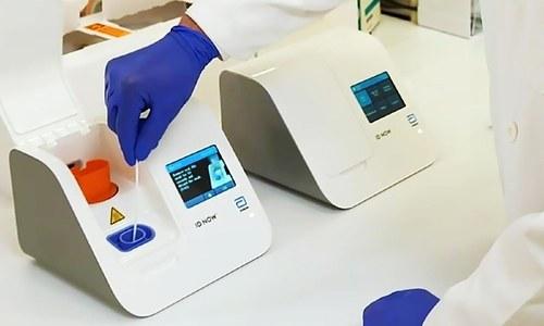 5 منٹ میں کورونا وائرس کی تشخیص کرنے والا ٹیسٹ تیار