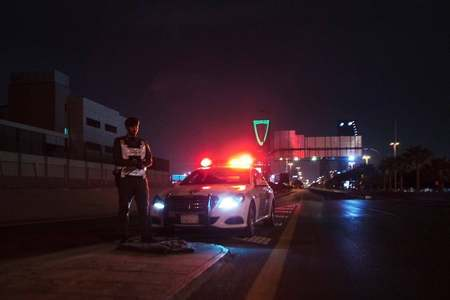 Saudi intercepts missiles over curfew-locked Riyadh, border city