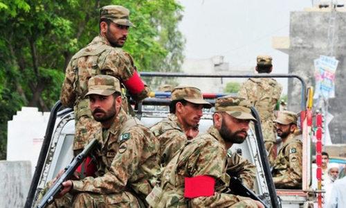 کورونا وائرس: آرٹیکل 245 کے تحت فوجی دستوں کی تعیناتی مکمل ہوگی، پاک فوج