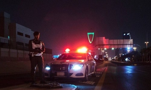 Saudi intercepts missiles over curfew-locked Riyadh, border city