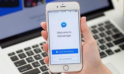 فیس بک میسنجر میں فارورڈ میسجز کی حد محدود کرنے کا اعلان