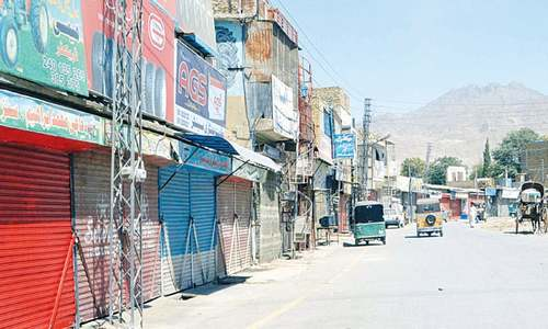 Trade suspension weighs heavily on Balochistan