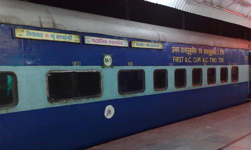 بھارت میں ٹرین کی کوچز کو آئسولیشن وارڈ بنانے کا فیصلہ