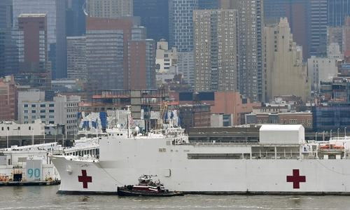 1,000-bed hospital ship to help NY cope with exigency