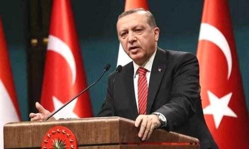 ترک صدر نے کورونا متاثرین کی مددکے لیے 7 ماہ کی تنخواہ عطیہ کردی