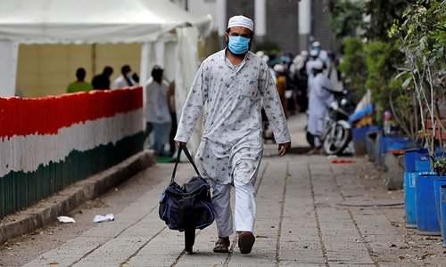 India manhunt after Islamic gathering becomes virus hotspot