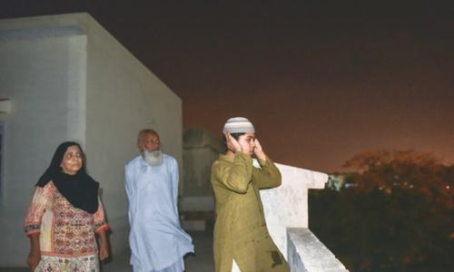 Trend of Azan at 10pm from rooftops gathers steam during lockdown