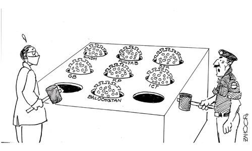 Cartoon: 1 April, 2020