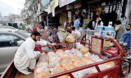 Organisations donate food to workers rendered jobless by lockdown