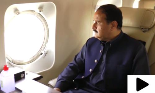 وزیراعلیٰ پنجاب کا لاہور کے مختلف علاقوں کا فضائی جائزہ