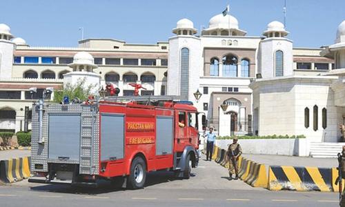وزیراعظم سیکریٹریٹ کے سامنے ایک شخص کی خودسوزی، جوڈیشل انکوائری کا حکم