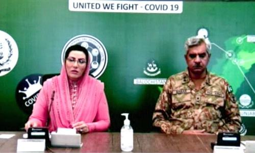 Information ministry, ISPR to deal with media over coronavirus: Awan