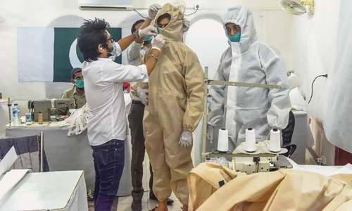 Fashion designer starts PPE production for JPMC