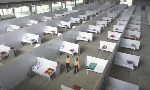 Corona isolation hospital opens in Muzaffarabad