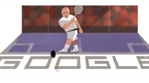 Google Doodle pays homage to Pakistani squash legend Hashim Khan