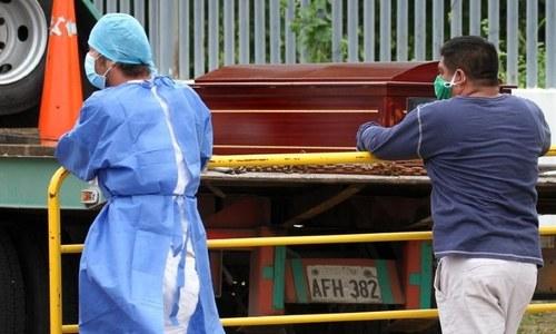 کورونا وائرس سے متاثر وہ شہر جہاں لاشیں اٹھانے والا کوئی نہیں