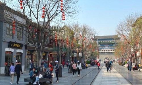 چین میں معمولات زندگی بحال، سیاحتی مقامات پر رش