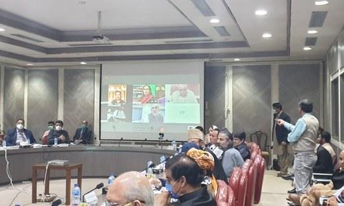 پارلیمانی کمیٹی کے ٹی او آرز طے کرنے کے لیے ذیلی کمیٹی تشکیل