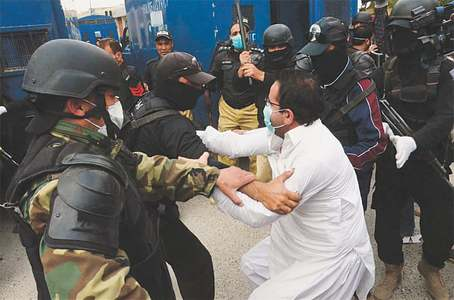 Doctors protesting lack of safety gear thrashed