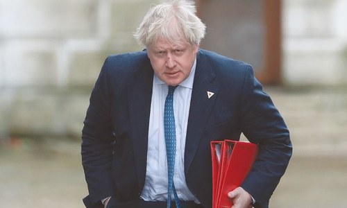 UK PM Johnson in intensive care with worsening coronavirus symptoms