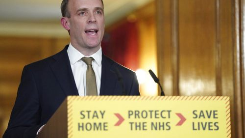 Who is Dominic Raab, Boris Johnson's de facto deputy?