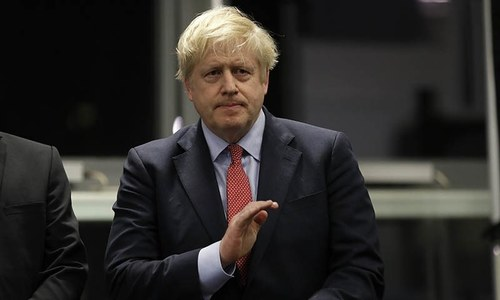 UK's PM Johnson stable in ICU, received oxygen, says spokesman