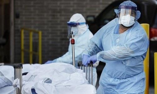 کورونا وائرس سے ہلاکتوں کی تعداد 75 ہزار سے متجاوز، کیسز 13 لاکھ سے زائد