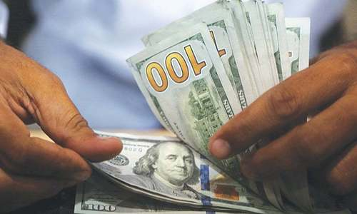 Dollar gains 90 paisas against rupee in interbank market