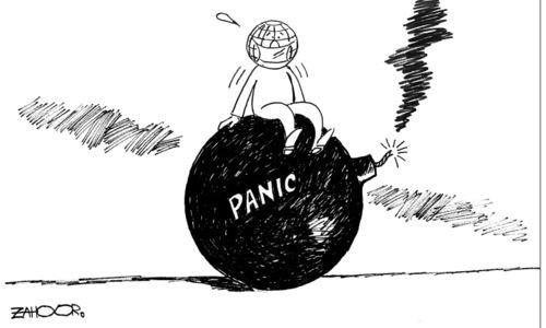 کارٹون :8 اپریل 2020