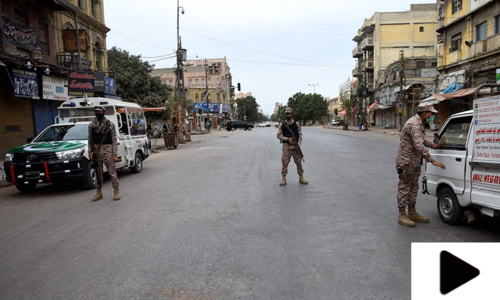 حکومت سندھ کا آج سے لاک ڈاؤن مزید سخت کرنے کا اعلان