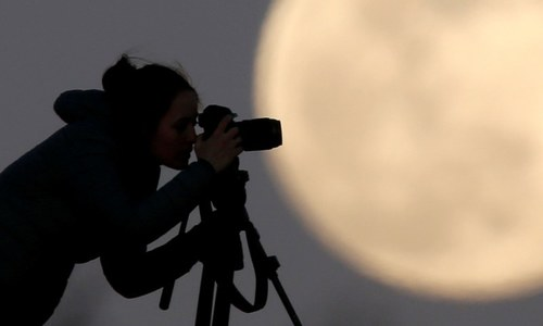 Largest supermoon of 2020 rises on a world battling Covid-19