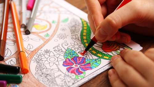 Have you tried colouring during this lockdown?