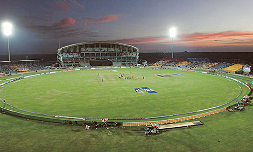 Virus prevents play at world's biggest cricket stadium