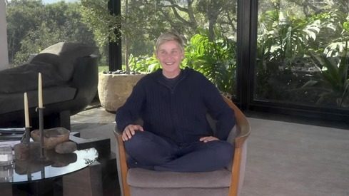 Ellen called out for comparing quarantine in mansion to prison