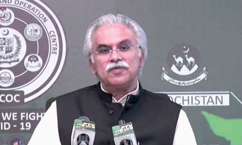 Low number of Covid-19 deaths in Pakistan doesn't mean we stop being careful: Zafar Mirza