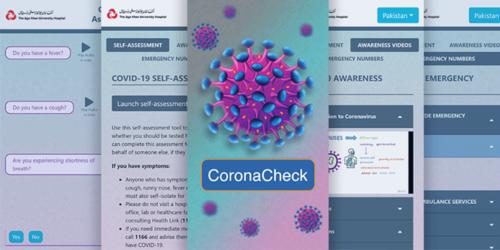 آغا خان یونیوسٹی کی ایپ سے کورونا وائرس کی علامات چیک کریں