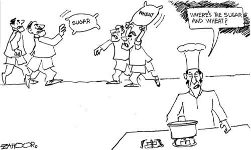 Cartoon: 10 April, 2020