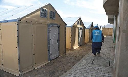 UNHCR donates Rubb Halls, housing units for Balochistan quarantine centres