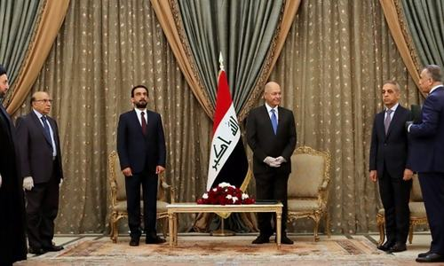 Spy chief named Iraq's third PM this year