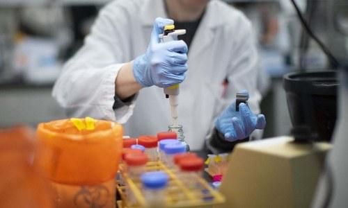 ایبٹ آباد کے ہسپتال میں کورونا وائرس کے مریضوں پر دوا کی آزمائش