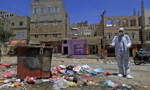 جنگ بندی کے اعلان کے ایک روز بعد یمن میں کورونا کا پہلا کیس سامنے آگیا