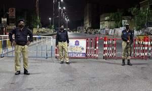 کراچی: نماز جمعہ کے اجتماع سے روکنے پر پیرآباد میں خاتون ایس ایچ او پر حملہ