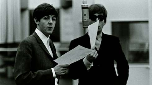 Beatles' handwritten lyrics sell for $910,000 at online auction
