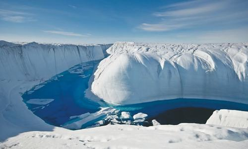 Greenland's ice sheet shrinking faster than ever: study
