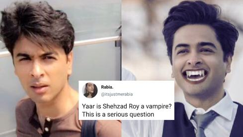 Twitter is obsessing over Shehzad Roy's youth again