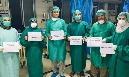 Fighting on the front line, at least 253 healthcare workers infected with Covid-19 in Pakistan so far