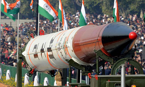 India has world's third biggest defence spending now