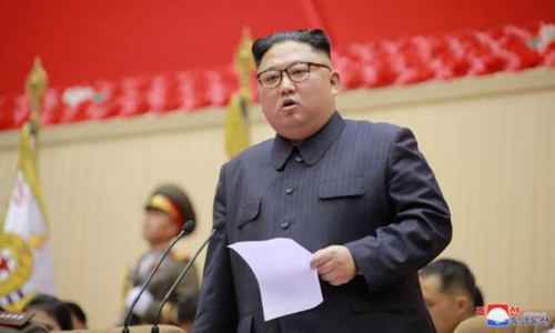 South Korea says North Korea's Kim may be trying to avoid coronavirus