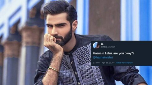 Twitter wants to know if Hasnain Lehri's doing okay